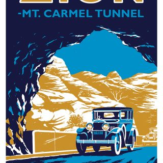 Zion Tunnel poster