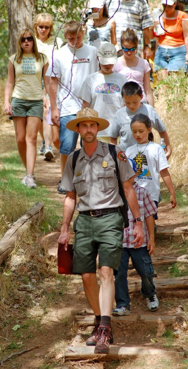 The Plein Air event helps fund the park's exemplary Junior Ranger program, each season, providing thousands of children once in a lifetime experiences at Zion National Park.