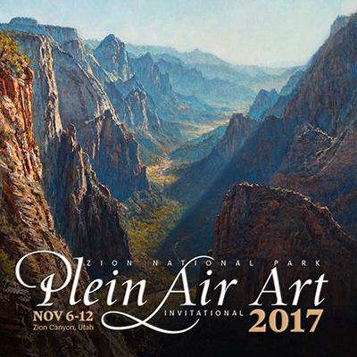 2017 Plein Air Invitational Schedule